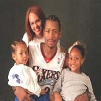 allen iverson  family
